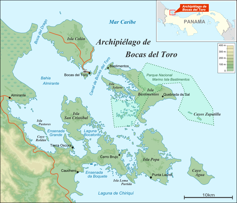 ilhas praias bocas del toro panama