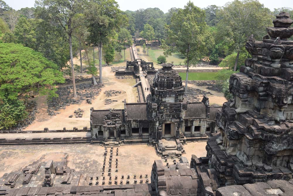 Baphuon temple angkor thom siem reap cambodia