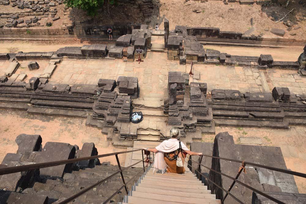 Baphuon temple angkor thom siem reap cambodia