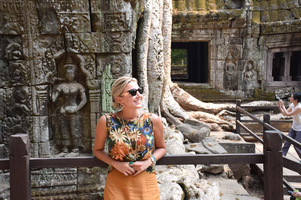 Ta Prohm temple cambodia lara croft tomb raider