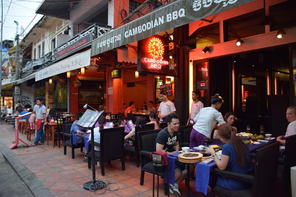 cambodian bbq siem reap restaurantes camboja
