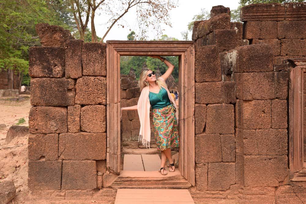 banteay srei temple siem reap angkor