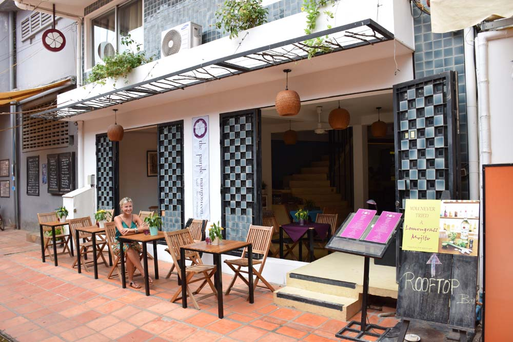 The Purple Mangosteen Hotel and Restaurant, na Alley