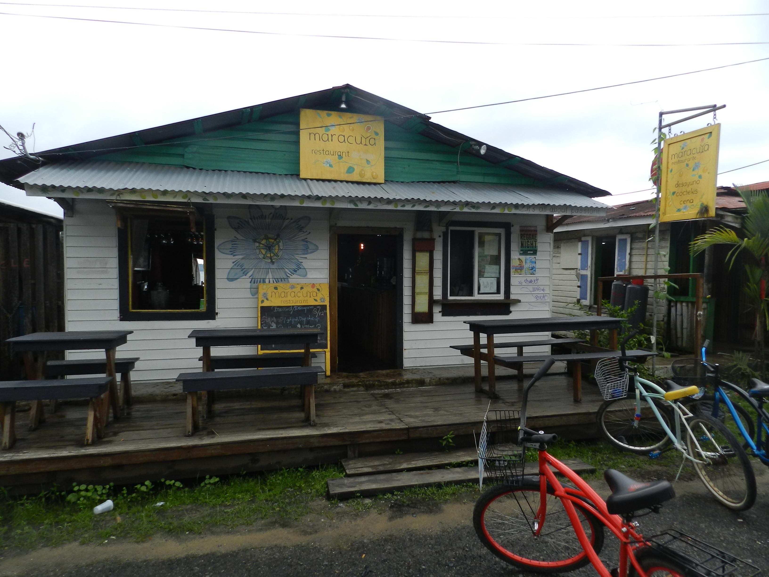 Entrada do Restaurante Maracuya