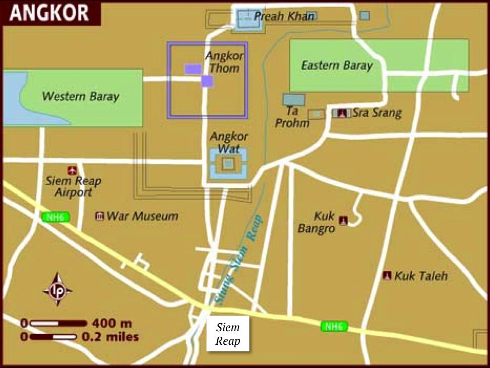 Siem Reap e os templos de Angkor