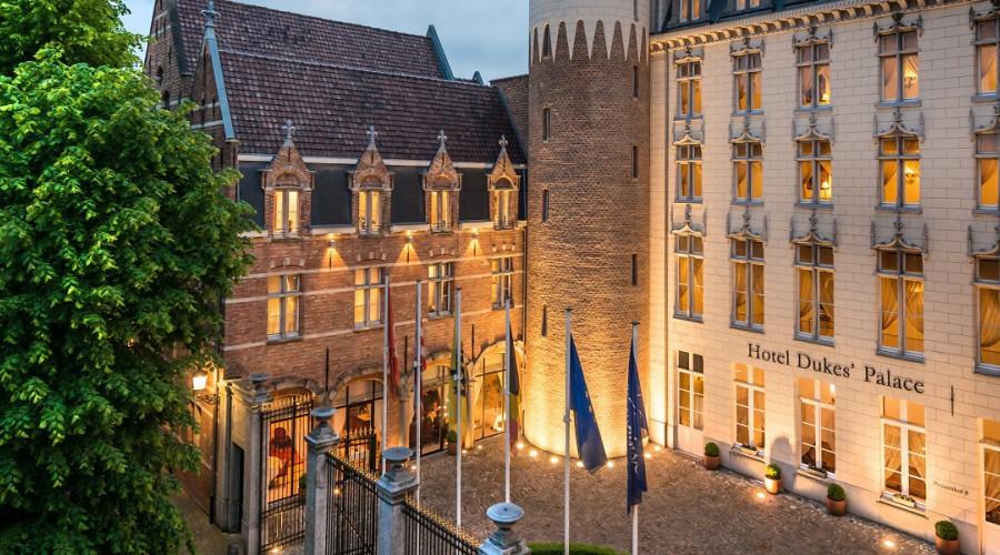 dukes palace brugge belgium