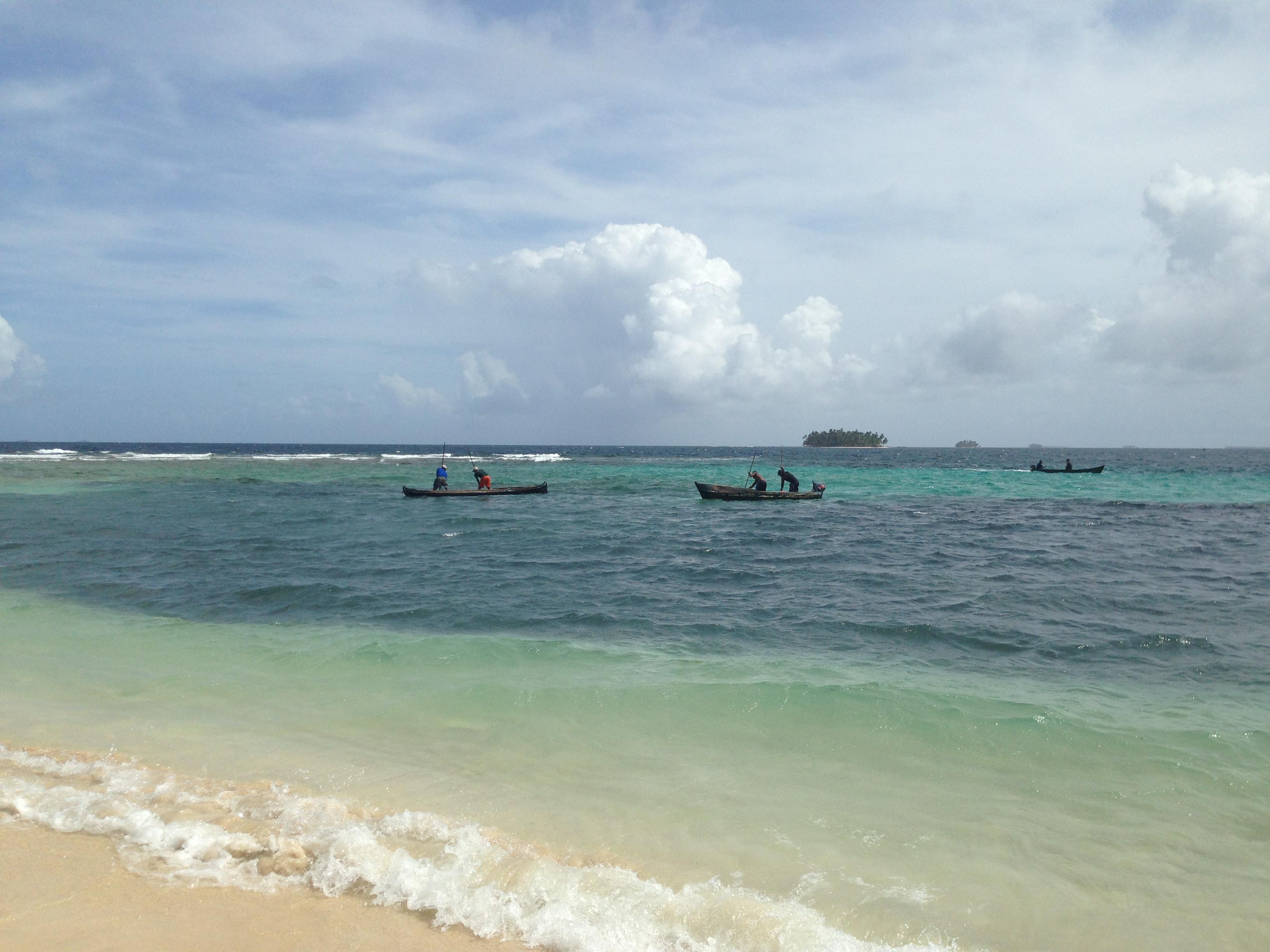 Isla Aguja san blas panama