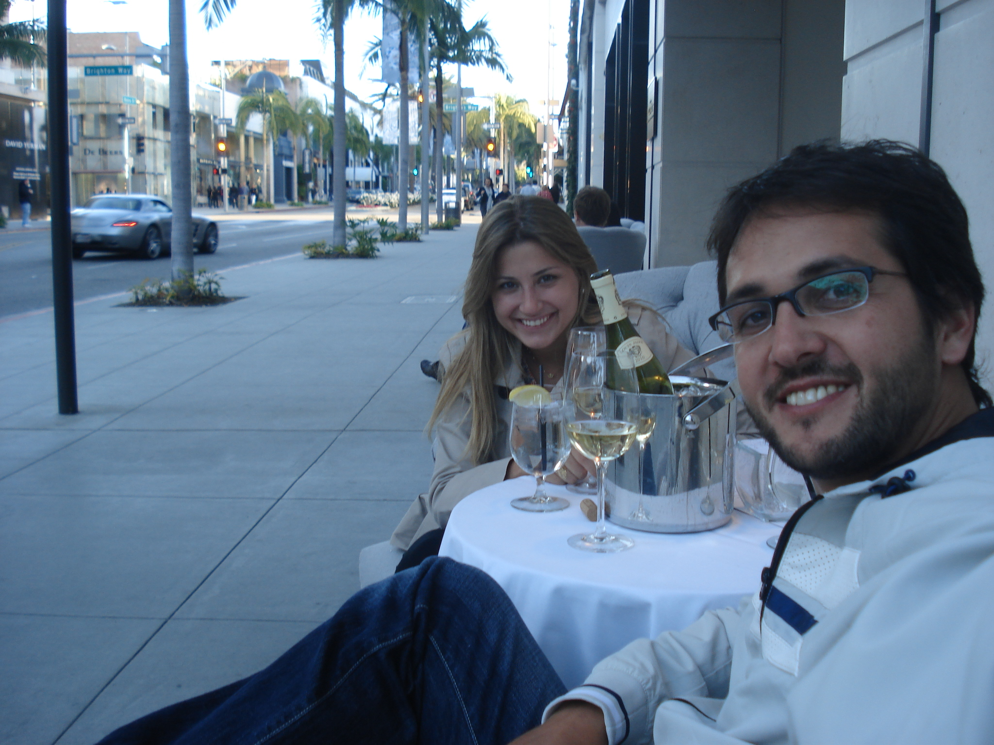 Café Rodeo, no hotel Luxe Rodeo Drive, Beverly Hills