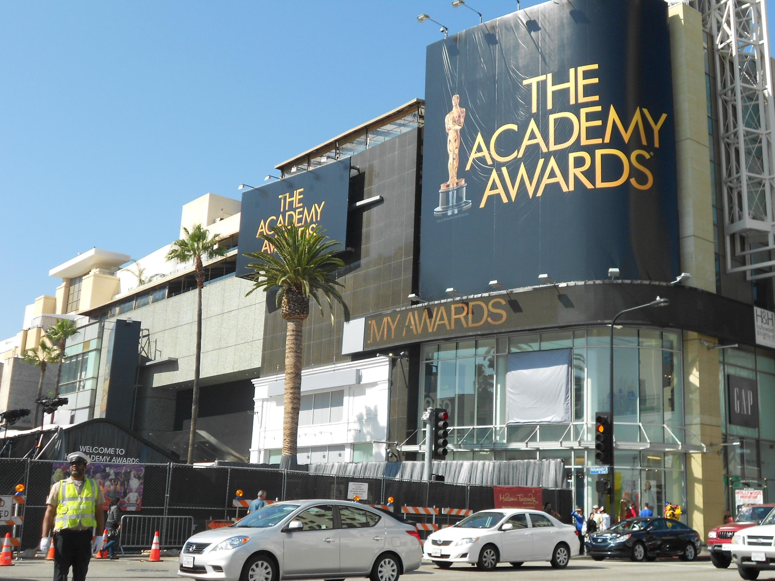 Preparativos para a cerimônia do Oscar 2012