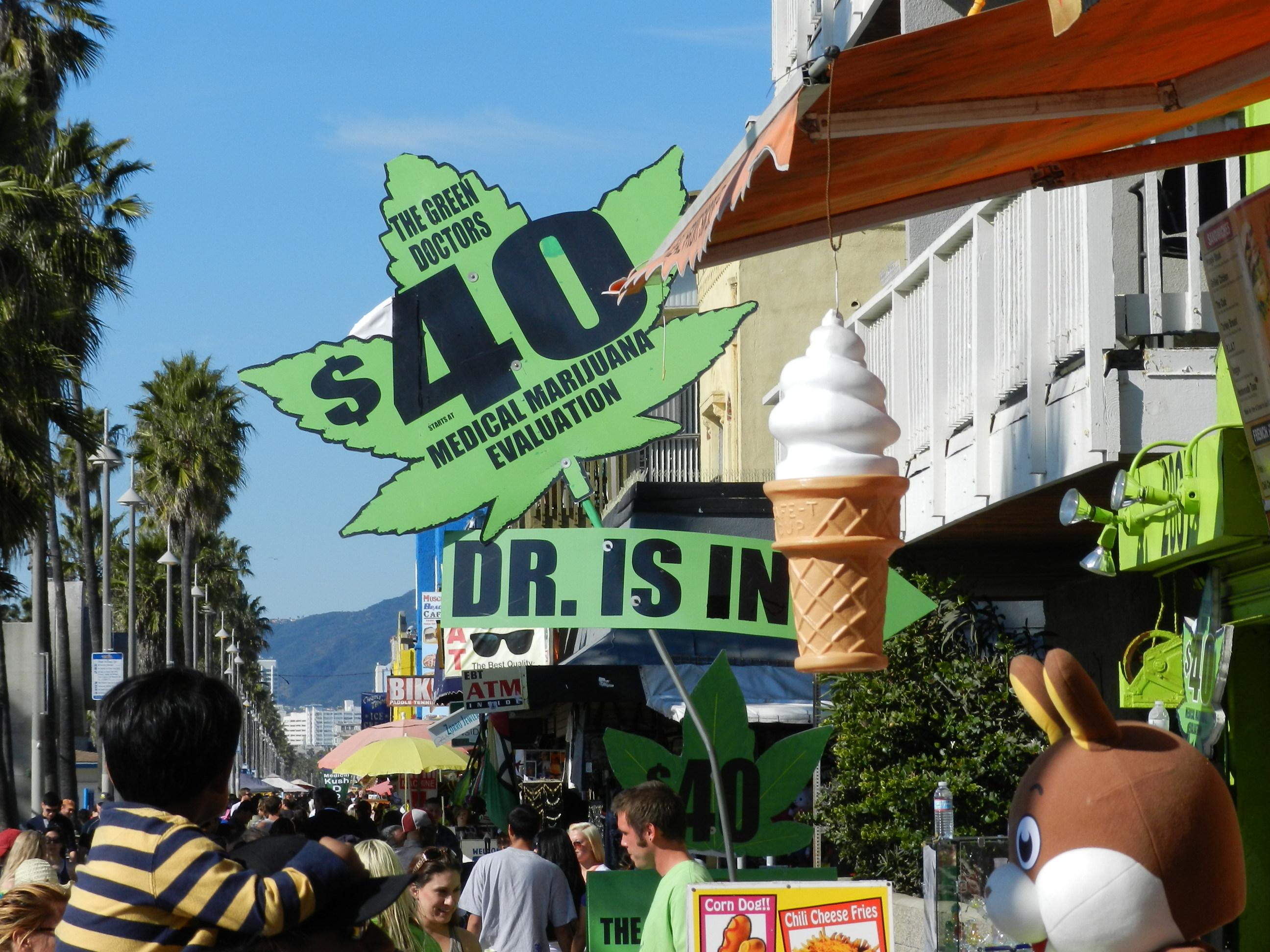 Dr. Green... Bizarro! Venice Beach