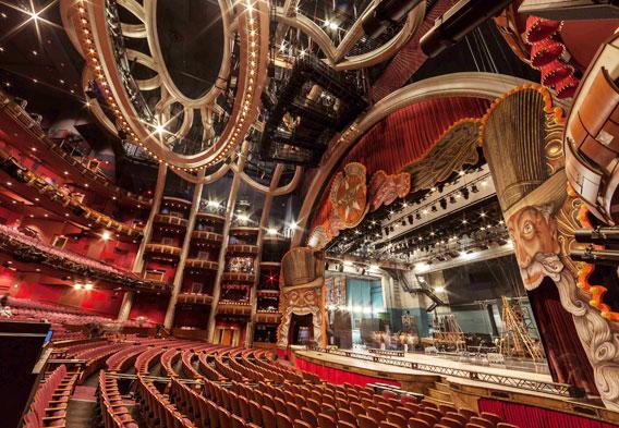O Dolby Theatre na época do Cirque du Soleil que assistimos | foto: dicasdacalifornia.com.br