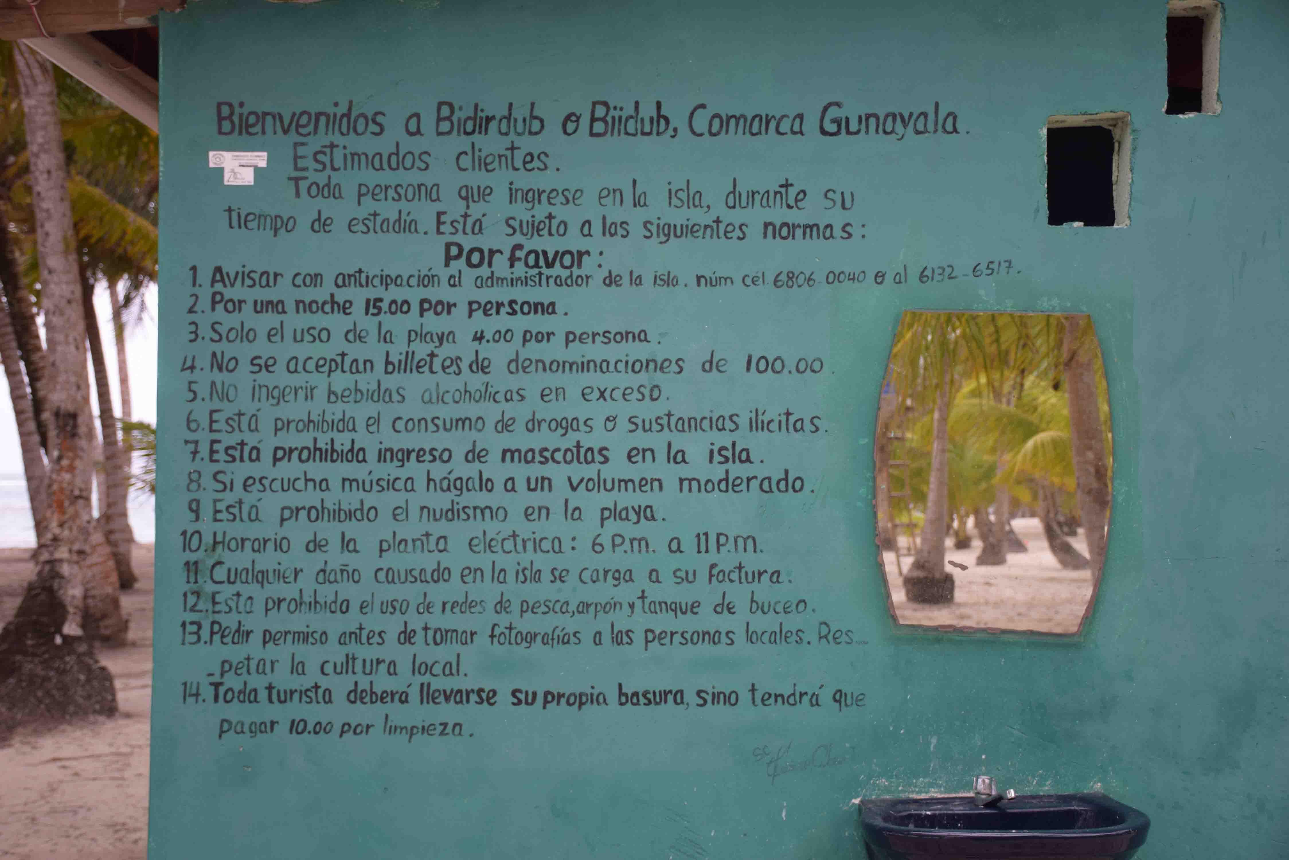 Isla Bidirdub - San Blas - Panamá