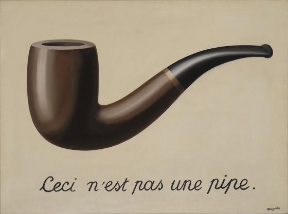 Isso não é um cachimbo - René Magritte