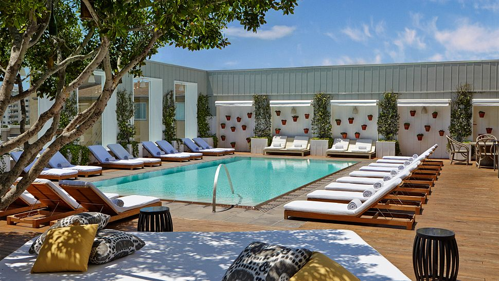Mondrian hotel los angeles west hollywood