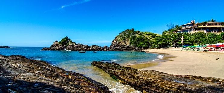 Praia da Ferradurinha | foto: buzios.rj.gov.br