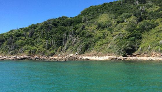 Praia das Virgens - ao lado da Praia da Tartaruga