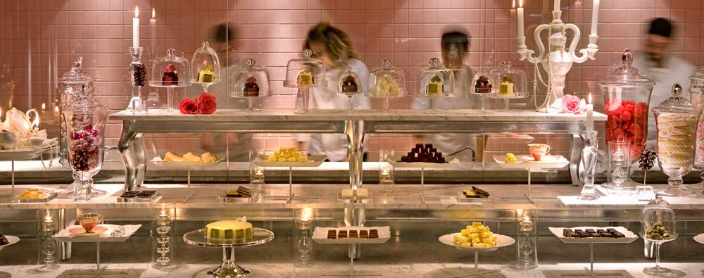 Sala das sobremesas