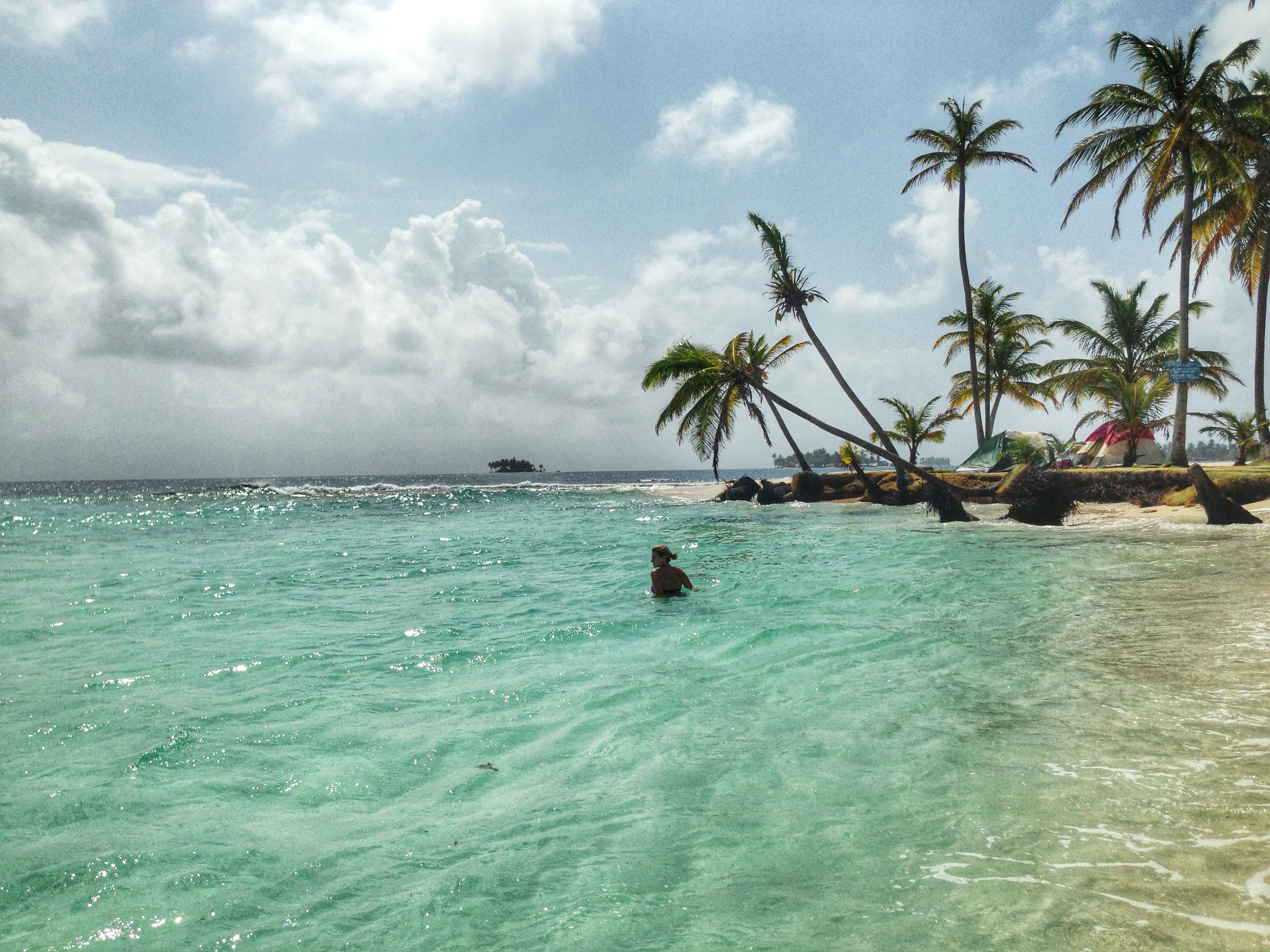 Isla Pelicano san blas panama
