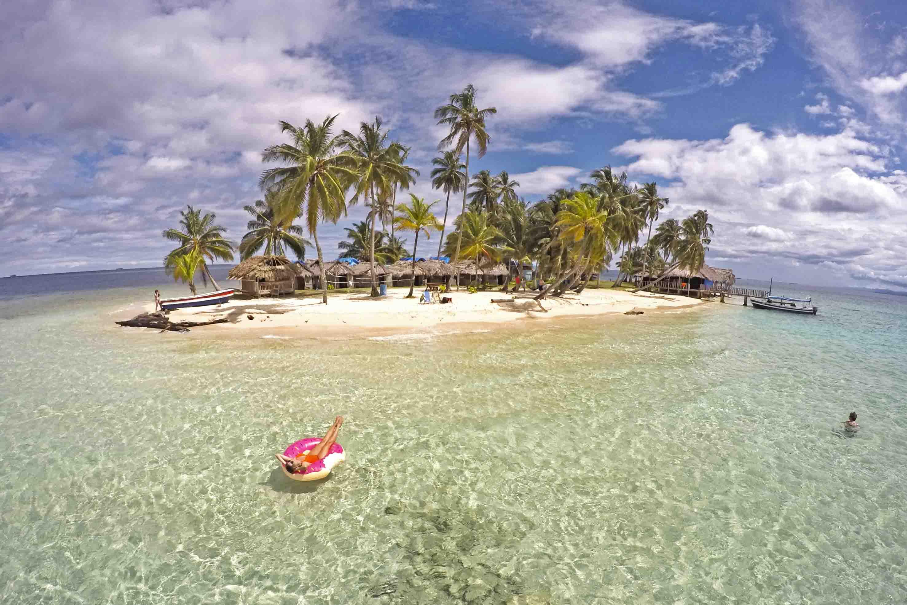 Isla Kuanidup - San Blas - Panamá