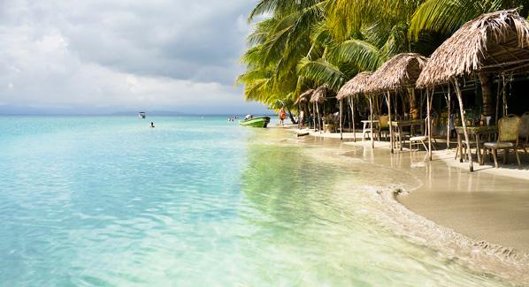 Playa Estrellas, Bocas del Toro