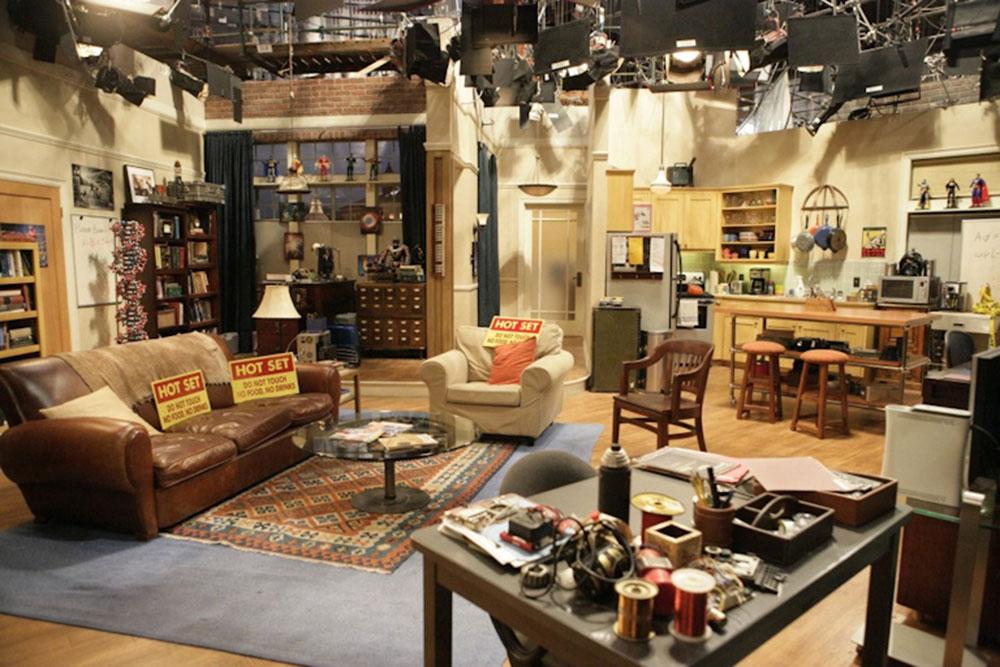 O cenário do The Big Bang Theory | foto: obsessive-coffee-disorder.com