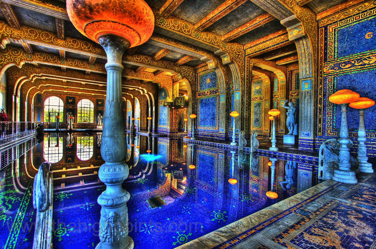Roman Pool - Hearst Castle | foto: Cameron Grant (Flickr)