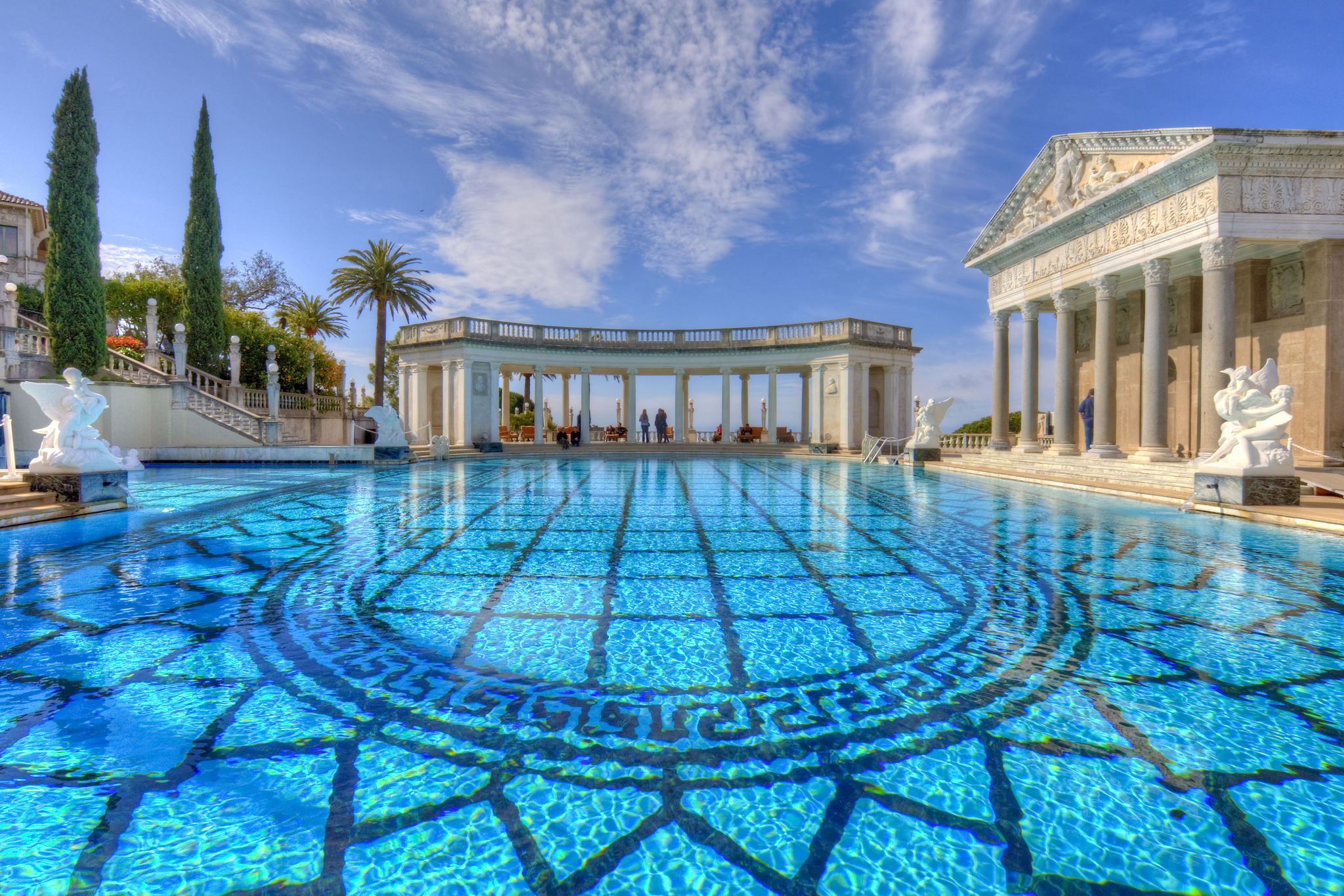 Neptune Pool - Hearst Castle | foto: Michael de la Paz (Flickr)