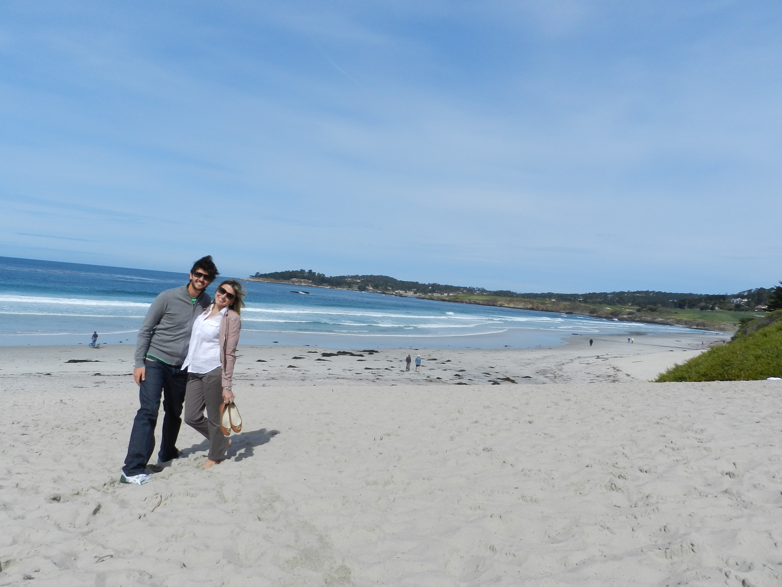 Carmel by the sea - highway 1 california dicas - praia beach