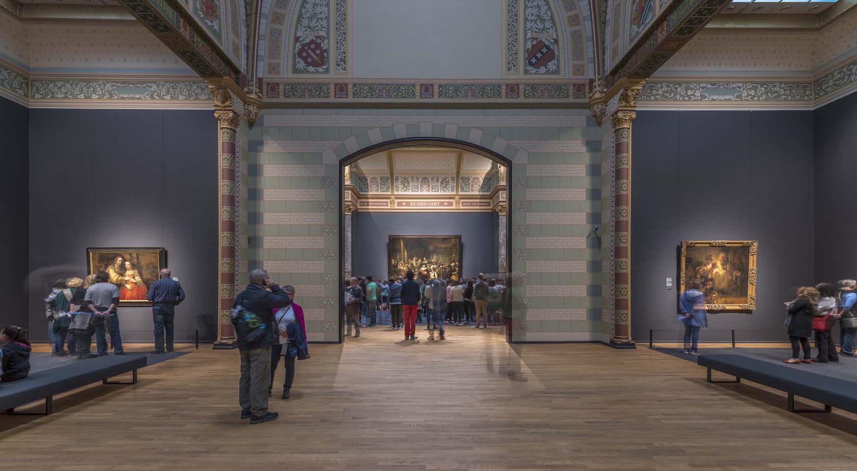 Interior do novo Rijksmuseum Amsterdam | foto: holland.com