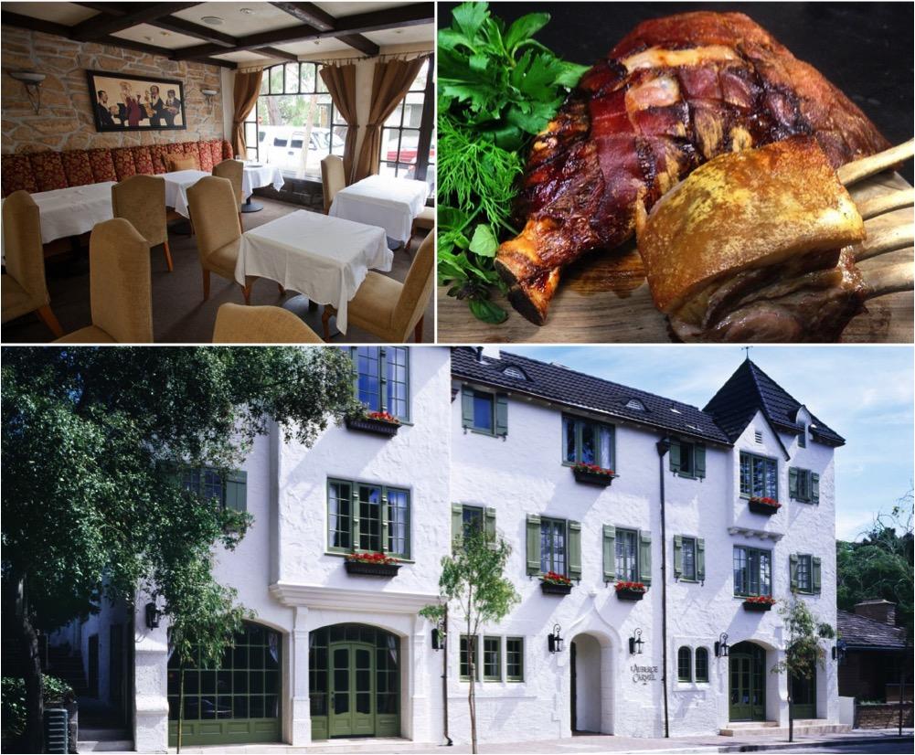 aubergine restaurant lauberge carmel hotel california highway 1