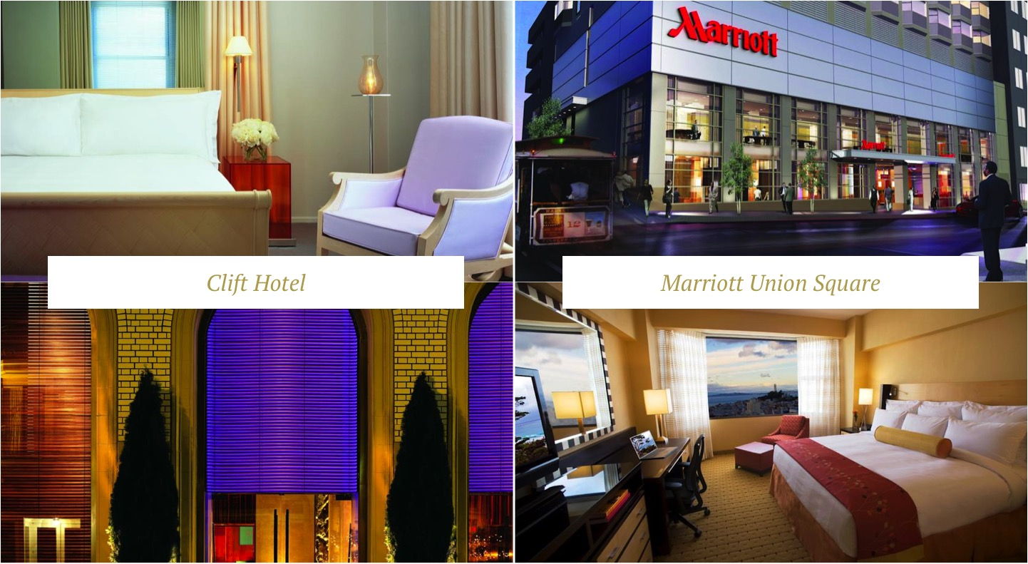 hoteis san francisco onde ficar marriott union square clift