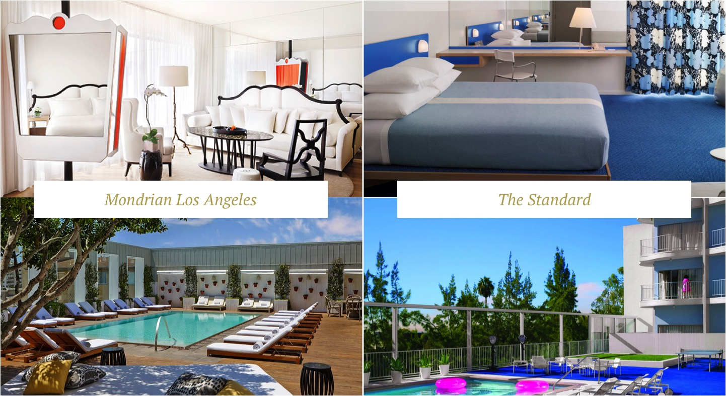 hotel los angeles west hollwood the standard mondrian onde ficar highway 1 california