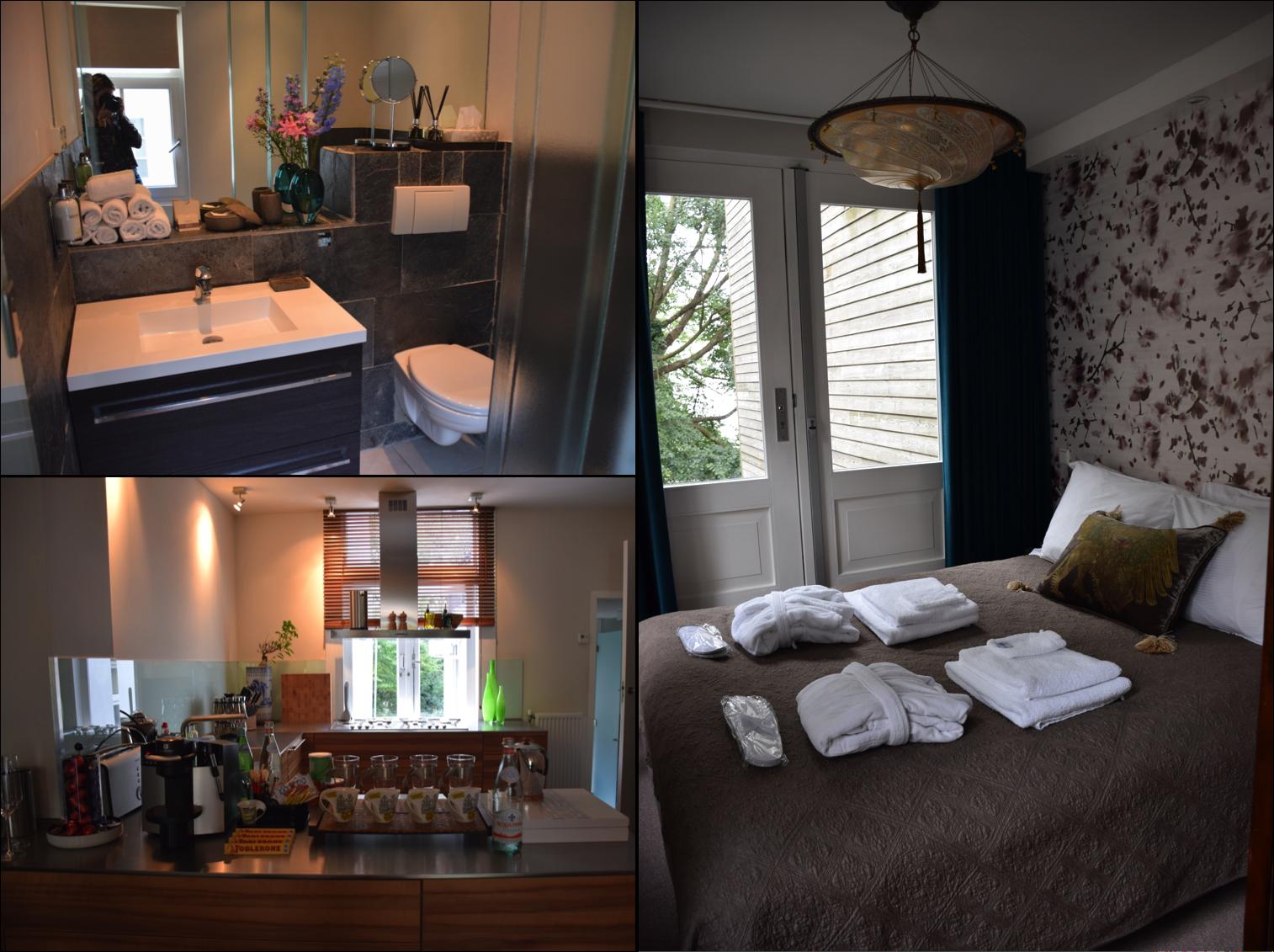 Banheiro, quarto principal e cozinha