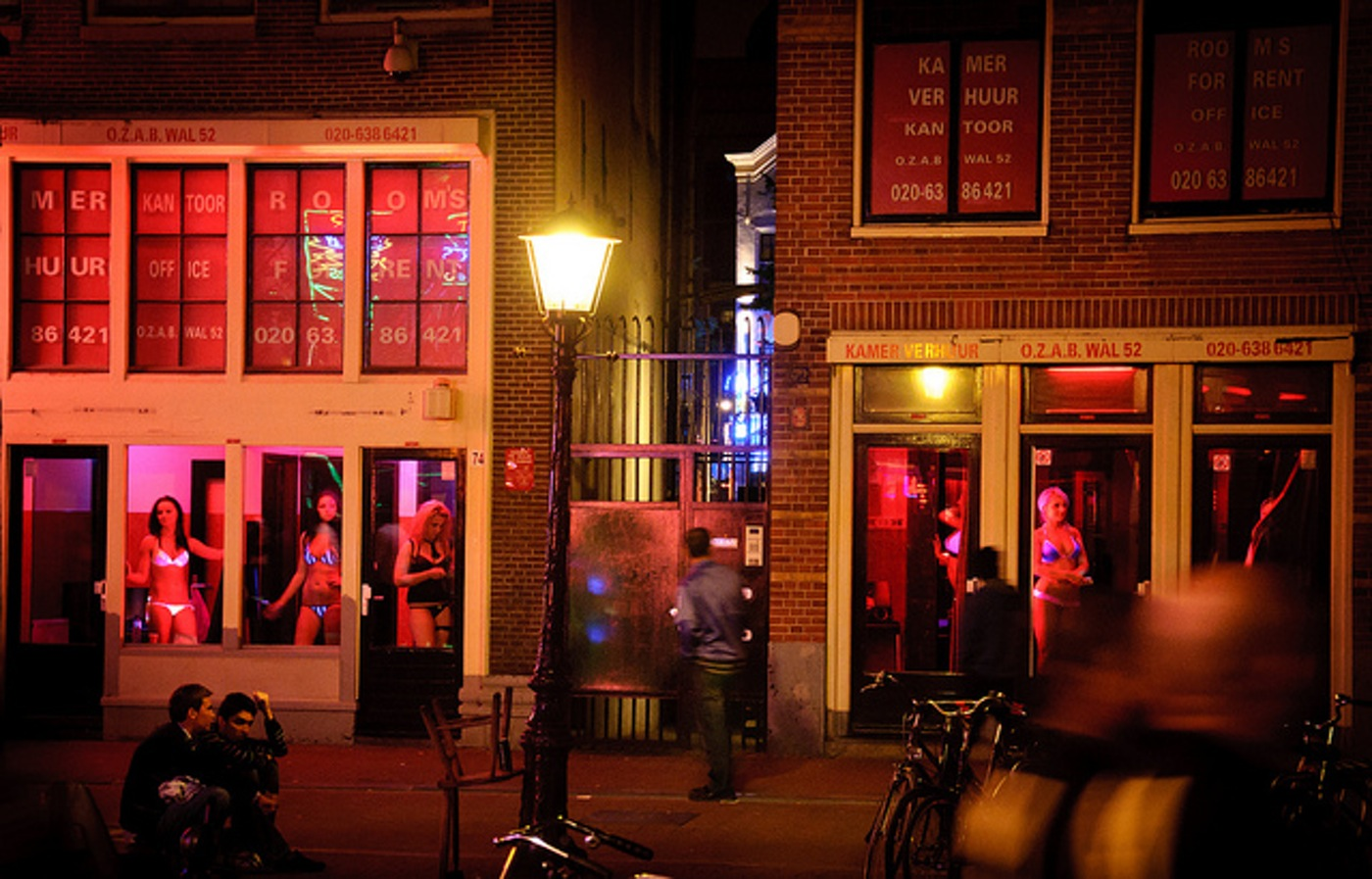 Red Light District em Amsterdam | foto: triip.me