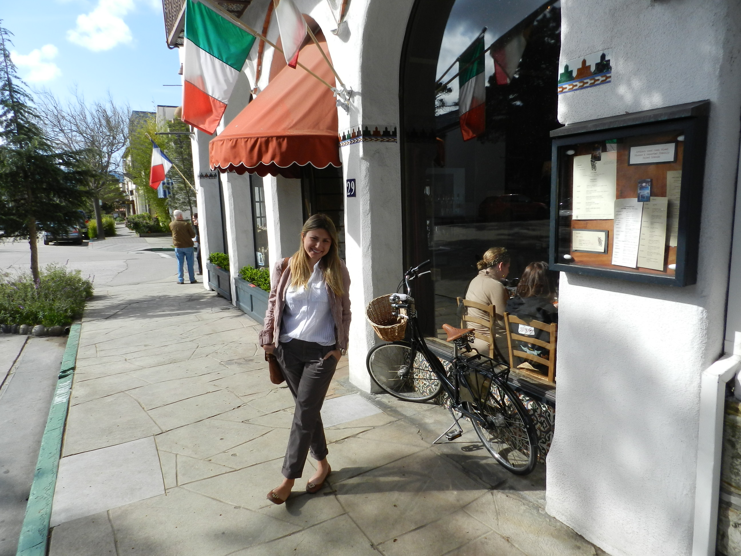 restaurant La Bicyclette Carmel California highway 1 onde comer 02