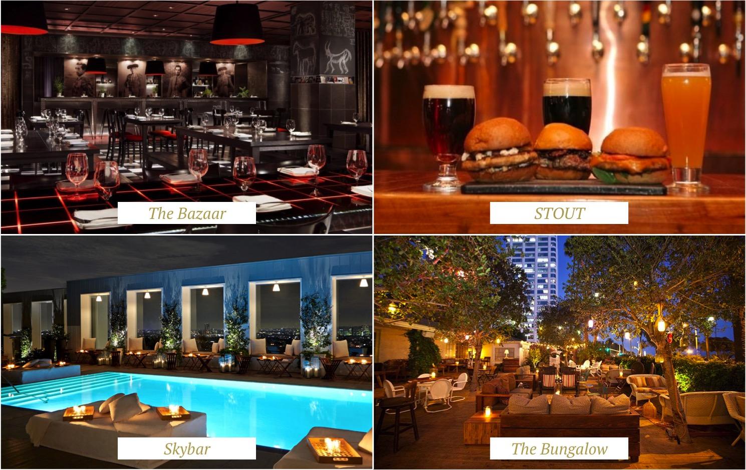 restaurants Los angeles - melhores restaurants LA - santa monica - beverly hills - west hollywood - highway 1 dicas california
