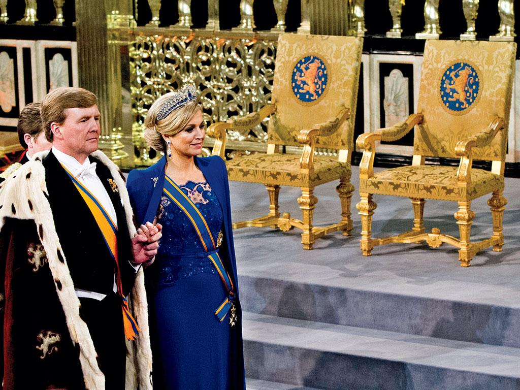 O Rei e a Rainha da Holanda