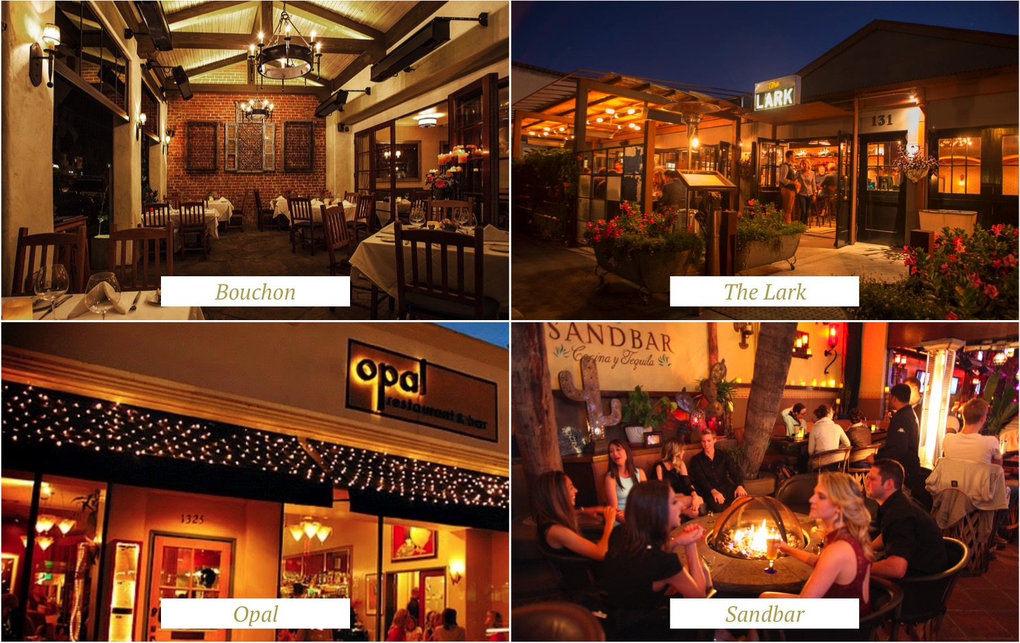 santa barbara - best restaurants - melhores restaurantes - california - highway 1 - bouchon - opal - the lark - sandbar