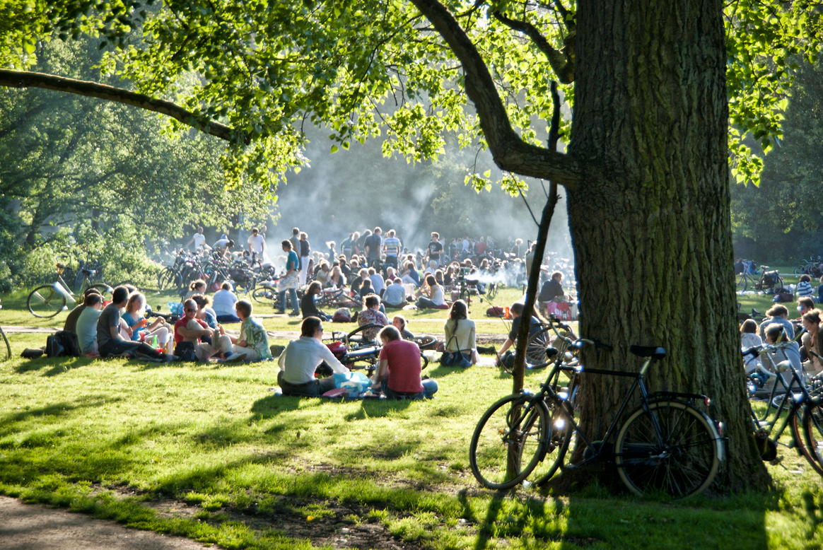 Vondelpark, em Amsterdam | foto: amsterdaily.nl