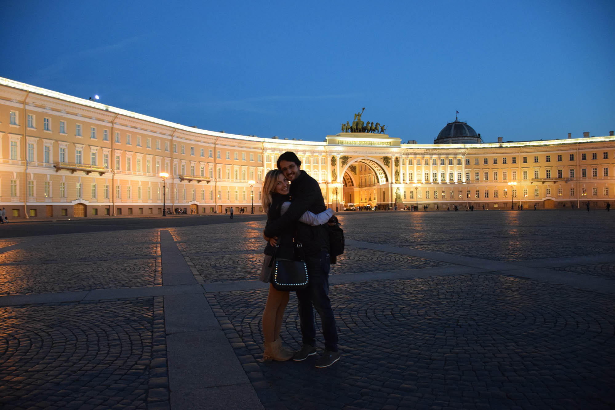 dicas de são petersburgo - rússia - Praça do Palácio