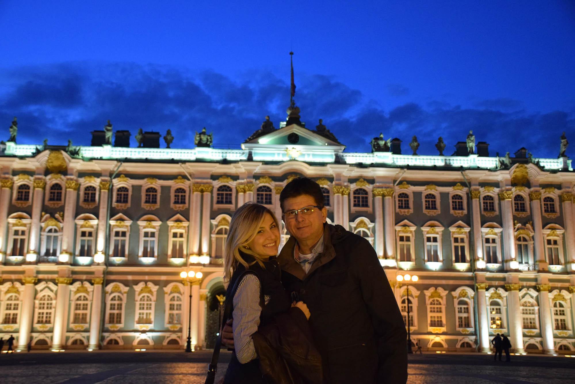 dicas de são petersburgo - rússia - palacio de inverno