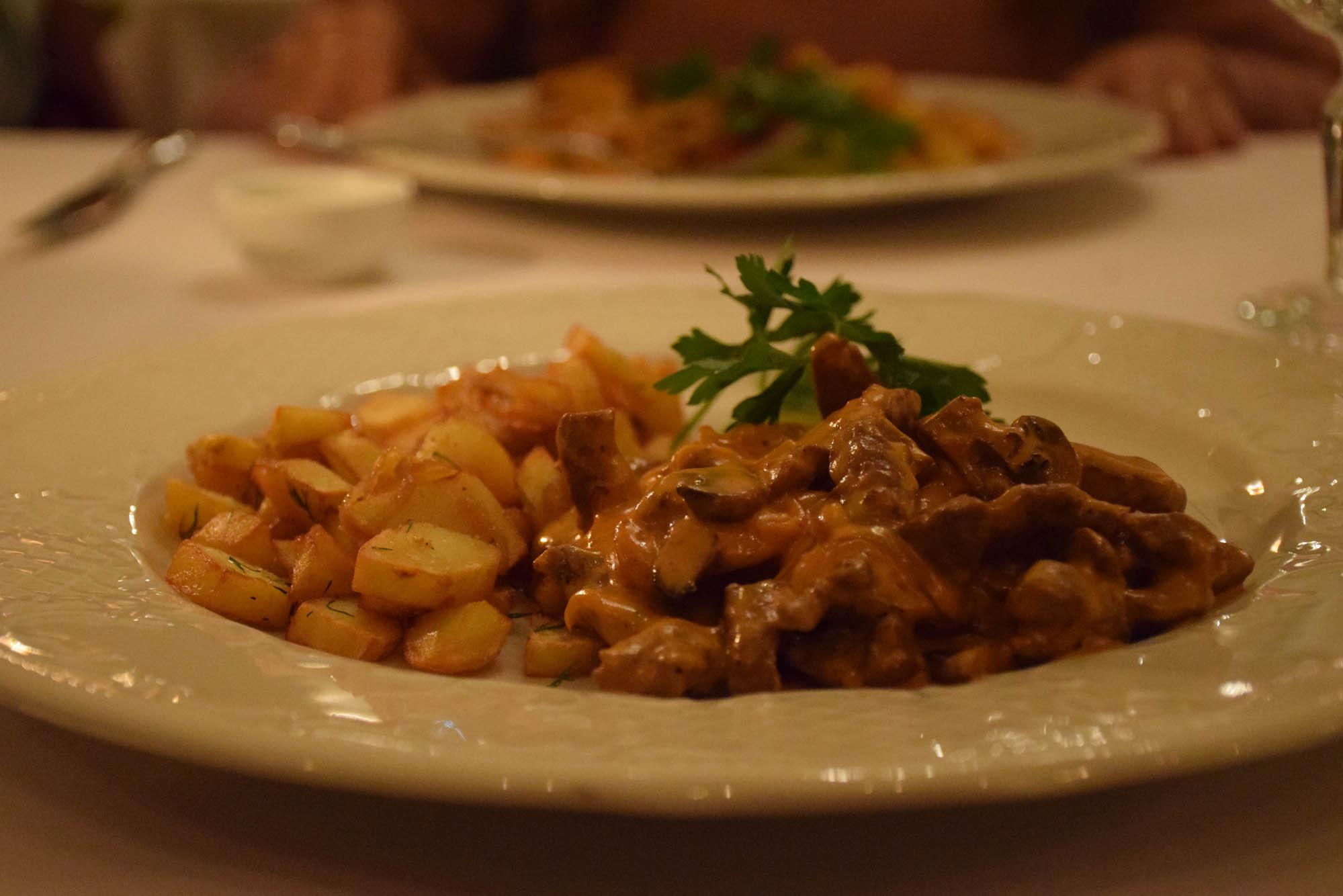 TZAR Restaurant st petersburg russia where to eat strogonov