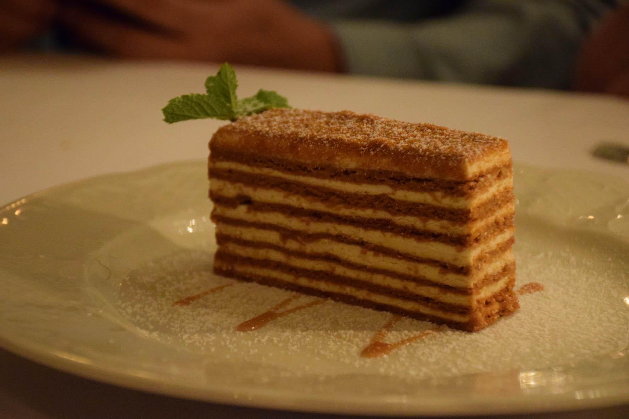 TZAR Restaurant st petersburg russia where to eat medovik layer honey cake