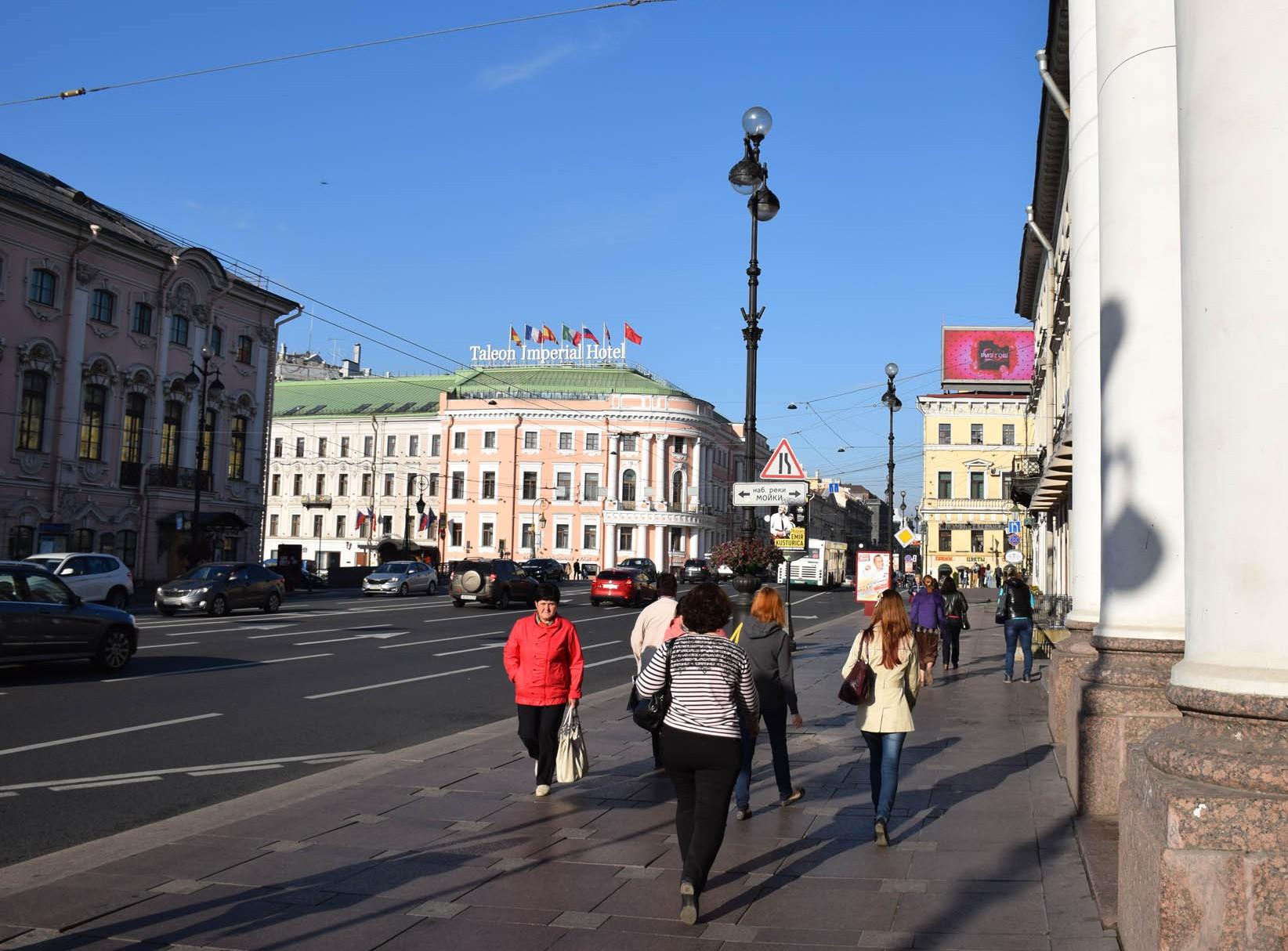 Taleon Imperial Hotel, na Nevsky Prospekt com a Moika