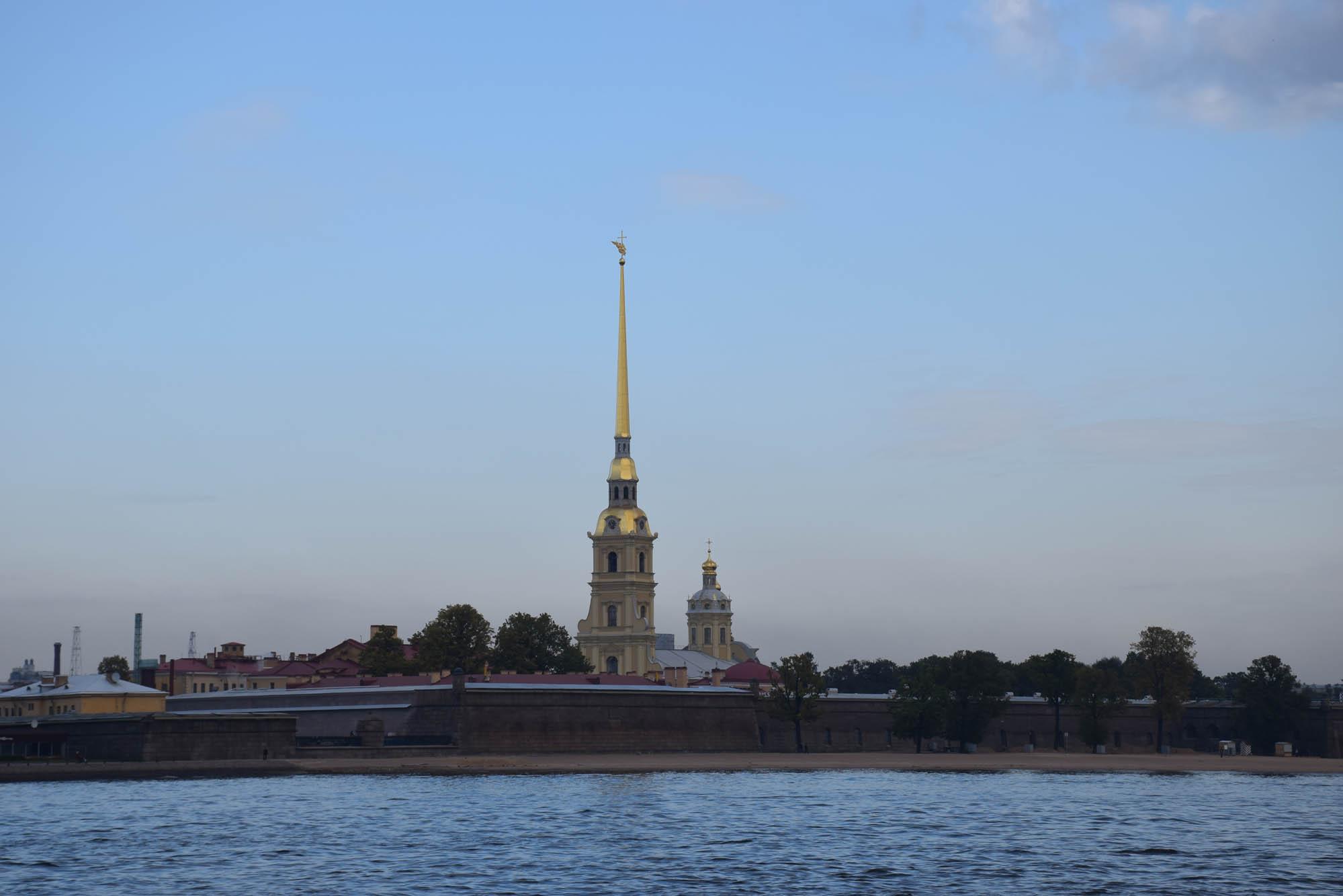 Fortaleza e Catedral de São Pedro e São Paulo, em São Petersburgo