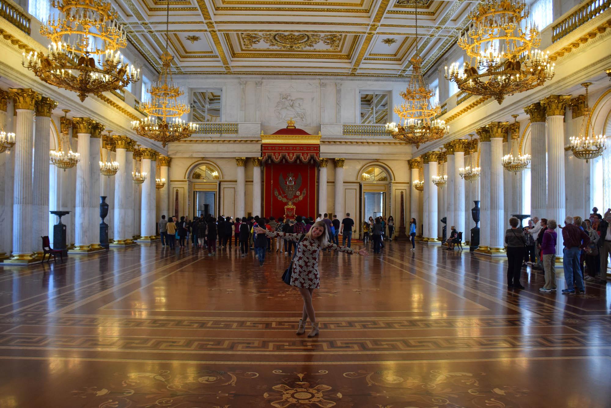 dicas de são petersburgo - rússia - palacio de inverno - hermitage