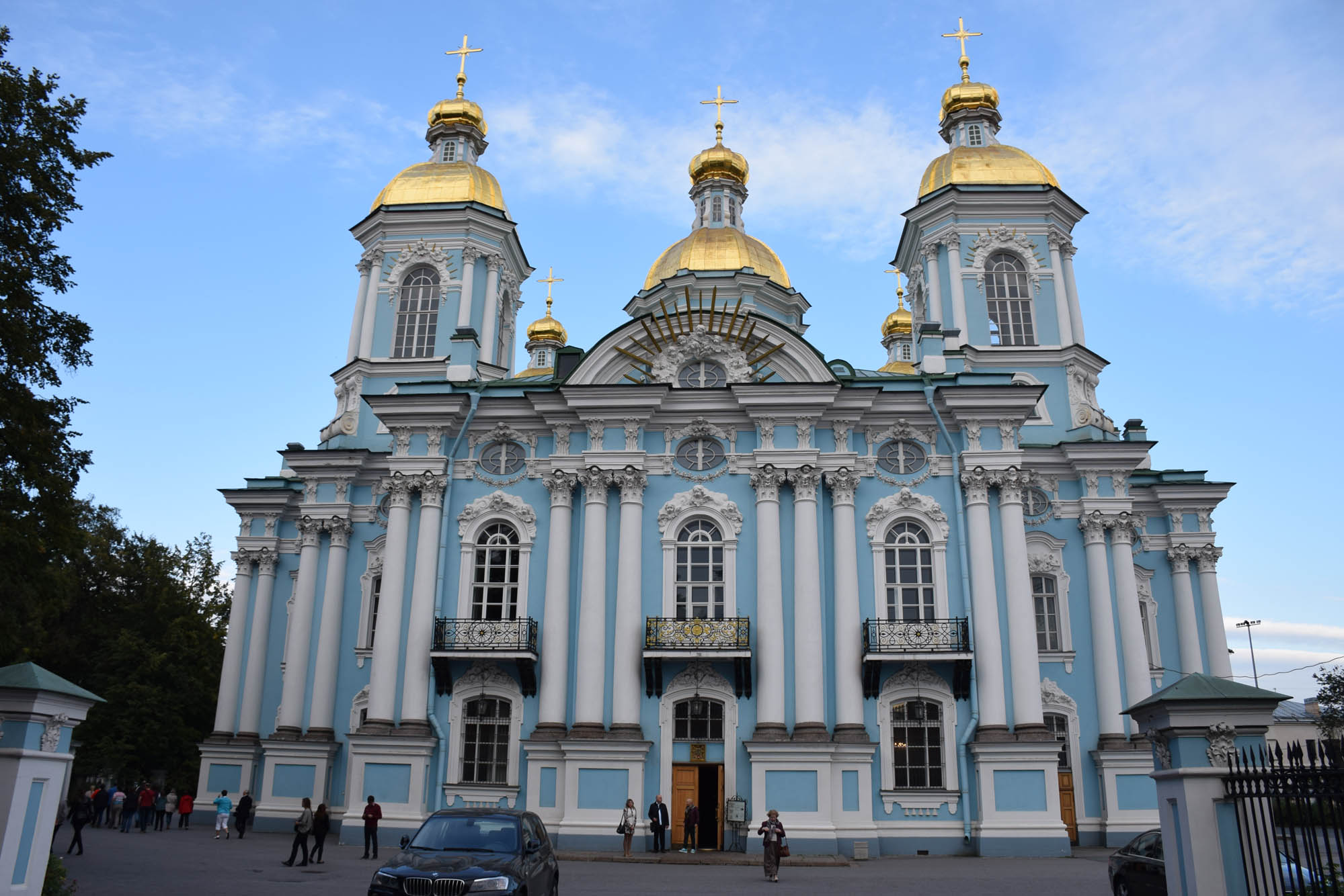 Catedral de São Nicolas em São Petersburgo - uma Igreja Ortodoxa ainda em funcionamento