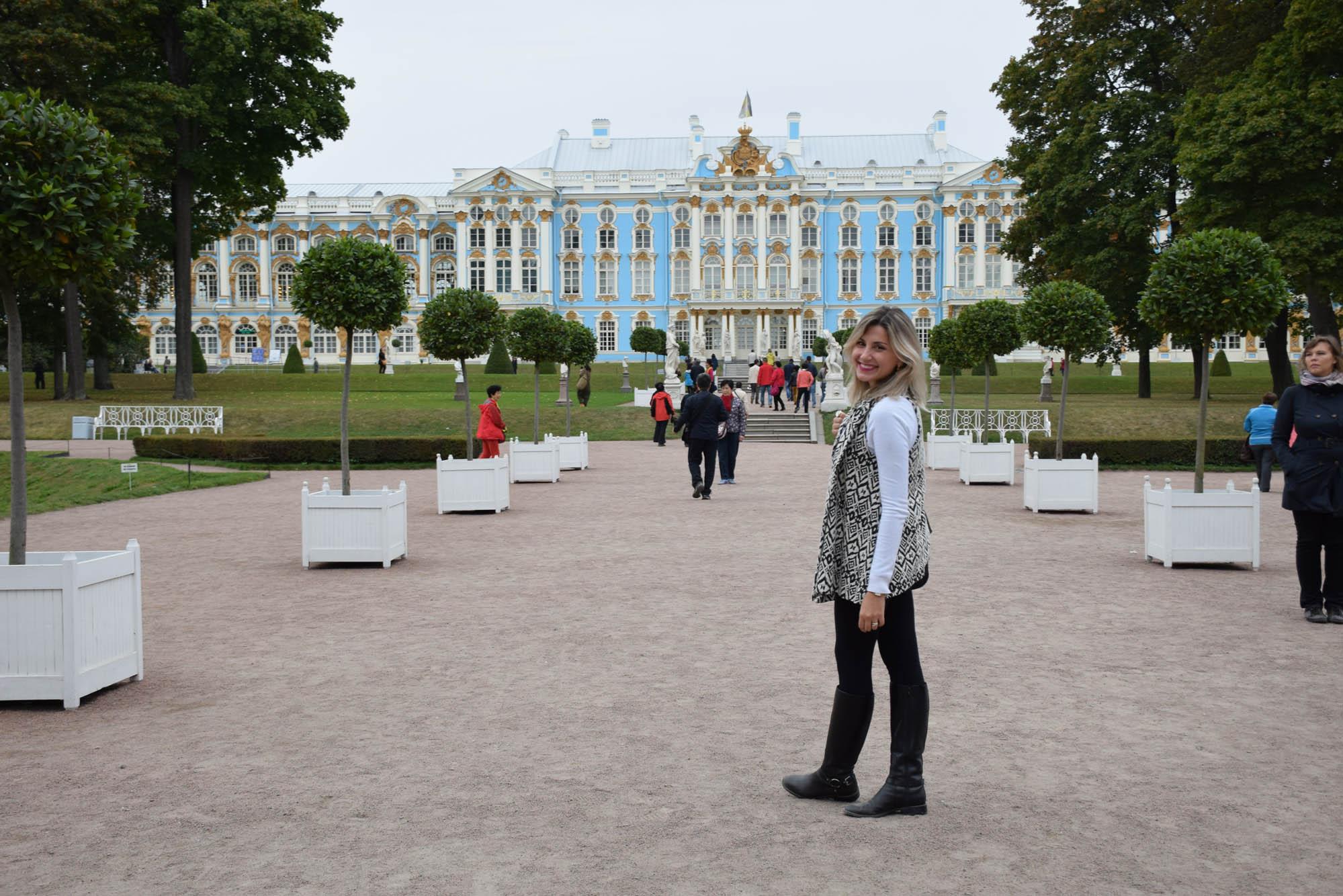Palácio da Catarina - Tsarkoe Selo - sao petersburgo