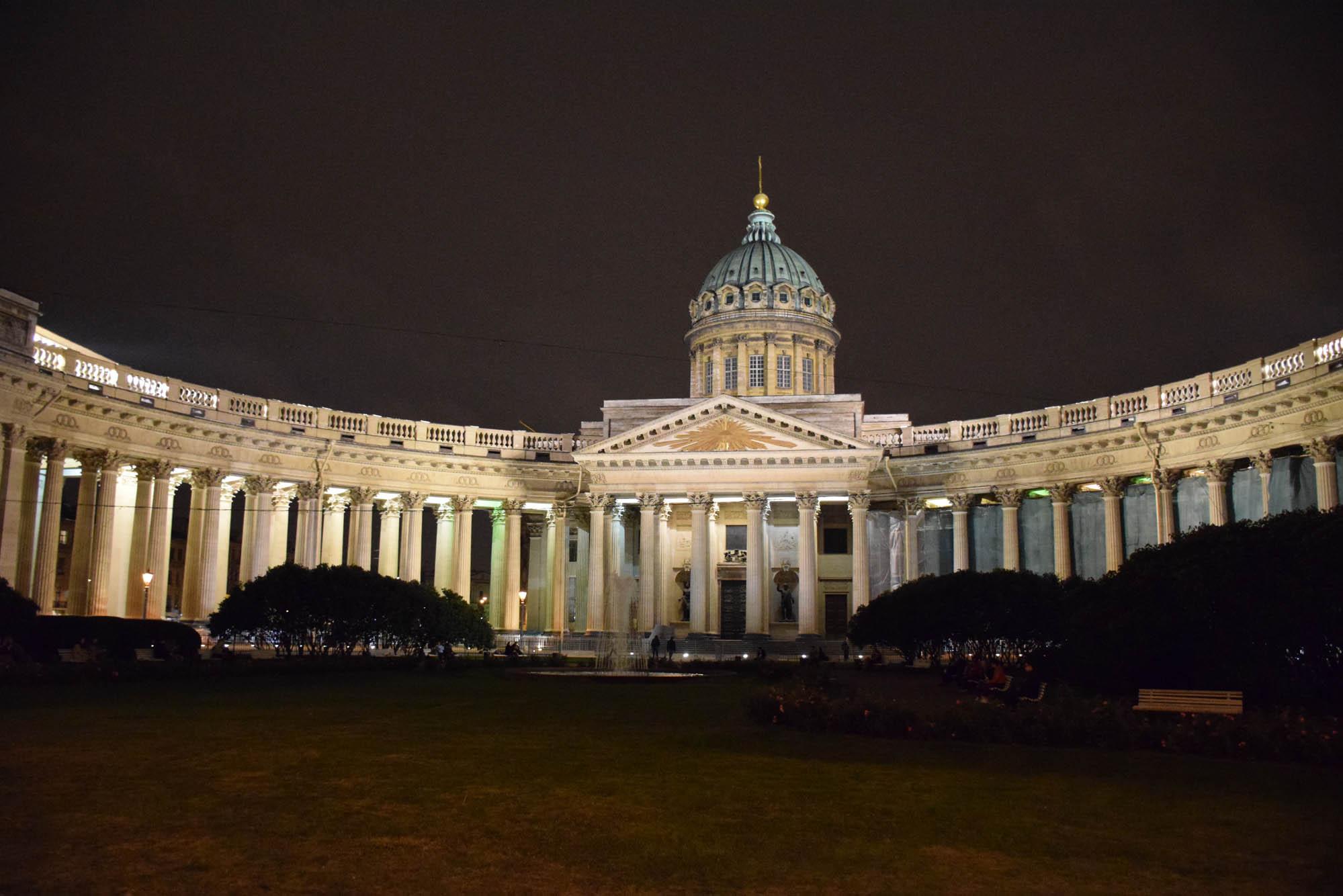 Catedral Nossa Senhora de Kazan, na Nevsky Prospekt - São Petersburgo