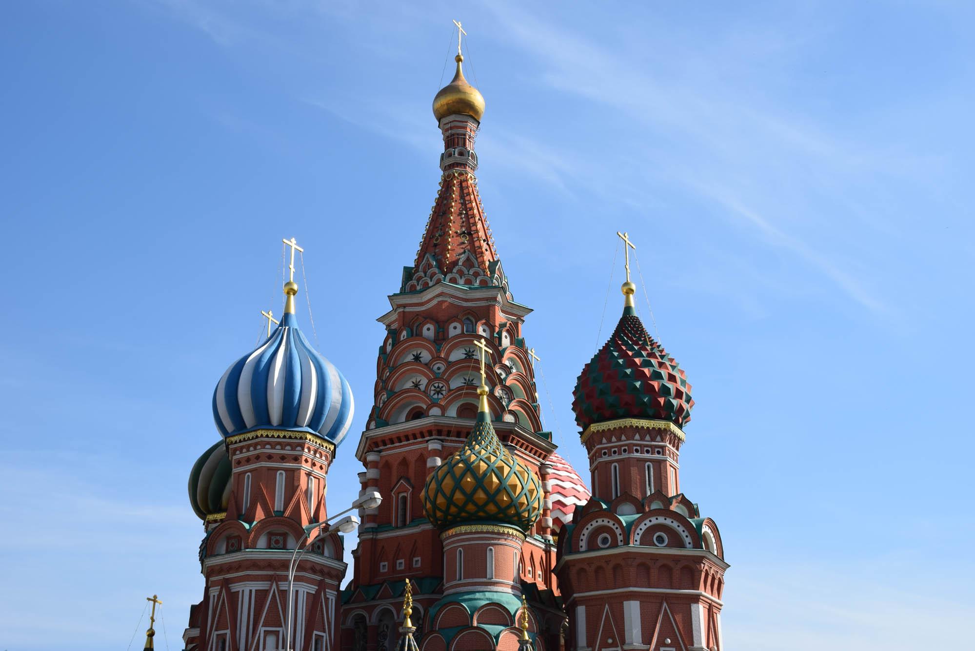 Viagem para a Rússia Catedral de sao basilio